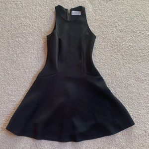 Abercrombie and Fitch Black Skater Dress